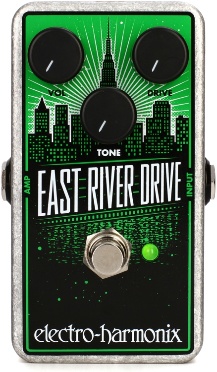 Electro-Harmonix East River Drive Classic Overdrive Pedal image 1