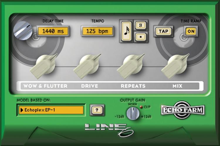 Line 6 Echo Farm TDM Plug-in image 1