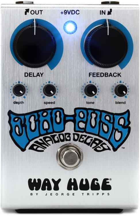Way Huge Echo-Puss Analog Delay Pedal image 1