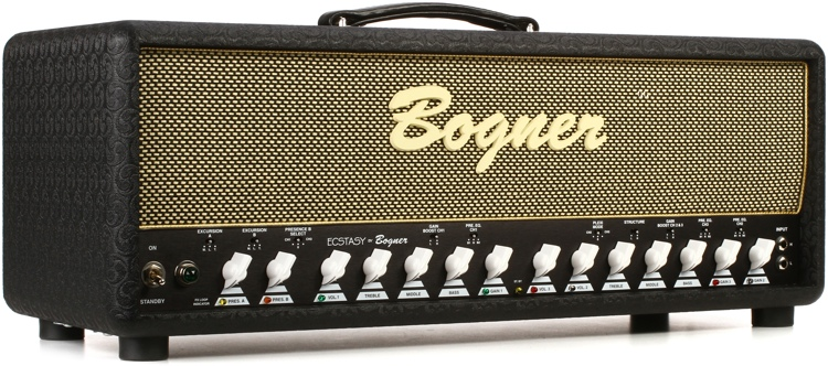Bogner Ecstasy 100-watt Handwired Tube Head with EL34\'s and A/AB Switch image 1