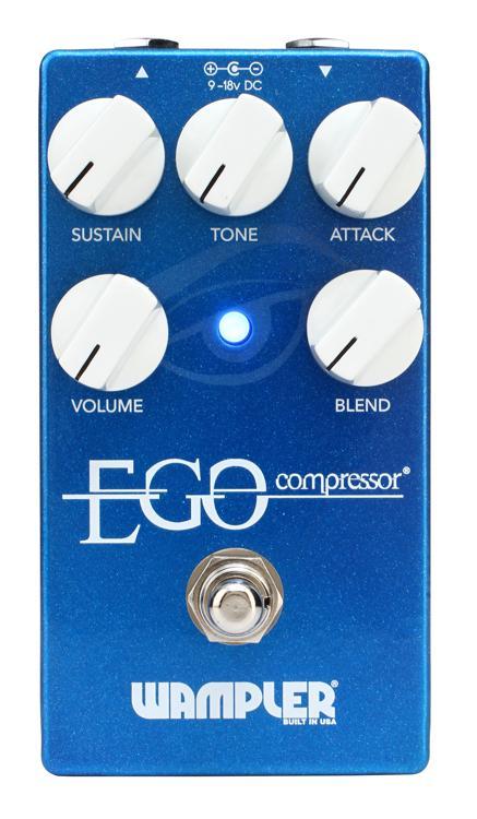 Wampler Ego Compressor Pedal with Blend Control image 1