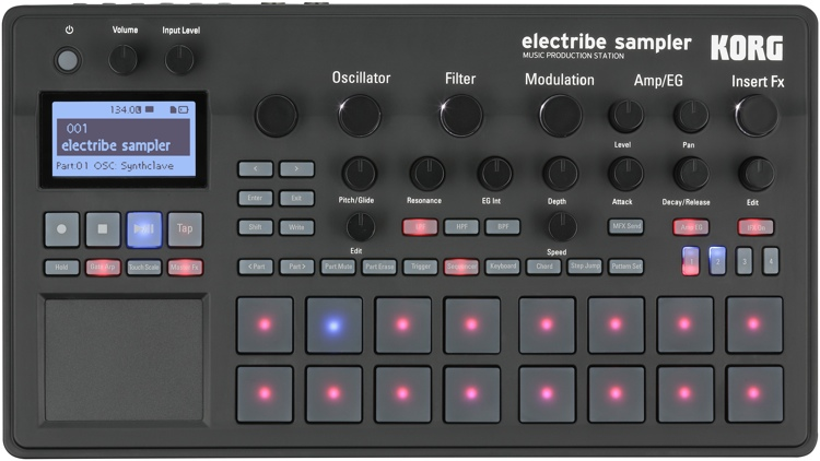 Roland - SP-555 | Creative Sampler with Performance Effects