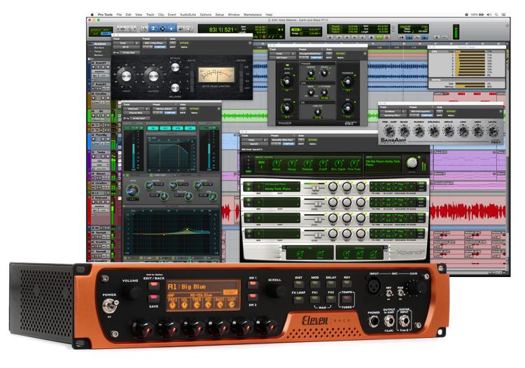 avid eleven rack special edition includes pro tools first sweetwater. Black Bedroom Furniture Sets. Home Design Ideas