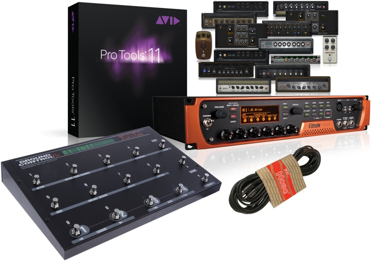 Avid Eleven Rack with Ground Control Pro Bundle image 1