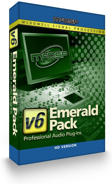 McDSP Emerald Pack HD v6 Plug-in Bundle image 1