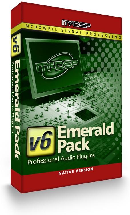 McDSP Emerald Pack Native v6 Plug-in Bundle image 1