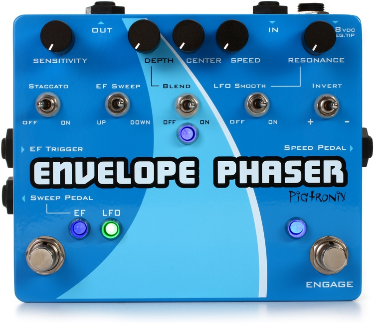 Pigtronix Envelope Phaser - Envelope and Rotary Phaser Pedal image 1
