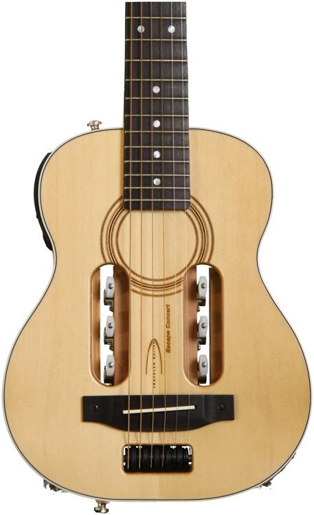 Traveler Guitar Escape Concert Acoustic Electric  - Natural image 1