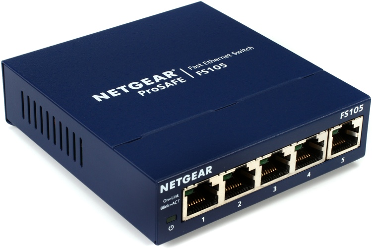 Netgear ProSafe FS105 5-Port Switch image 1