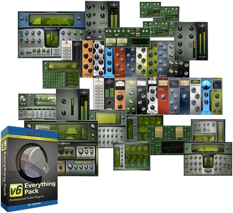 McDSP Everything Pack HD v6.3 Plug-in Bundle image 1
