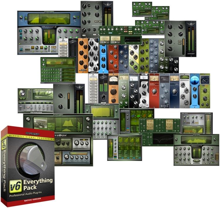 McDSP Everything Pack Native v6.3 Plug-in Bundle image 1