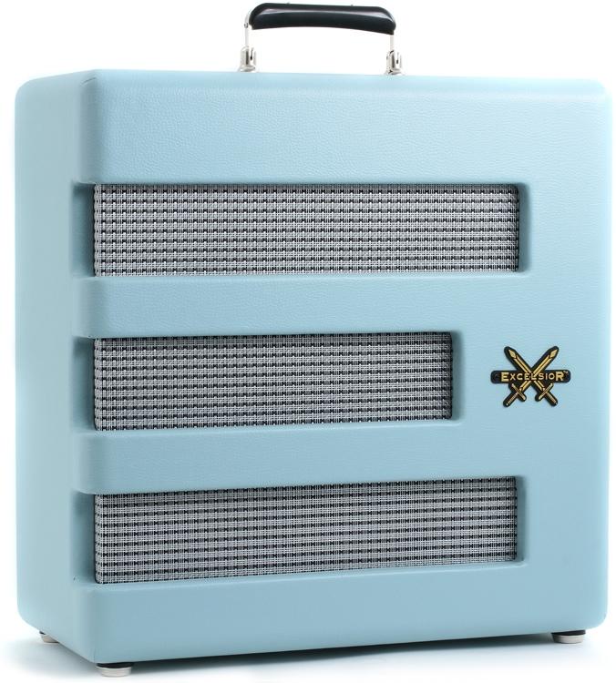 Fender Excelsior Pro - FSR - Sonic Blue image 1