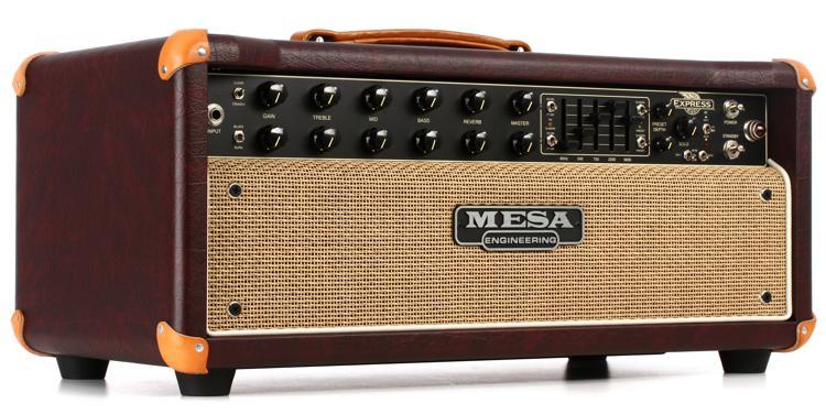 Mesa/Boogie Express 5:50 Plus 50-watt Tube Head - Wine with Tan Grille image 1