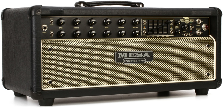 Mesa/Boogie Express 5:50 Plus 50-watt Tube Head - Black with Black & Cream Grille image 1