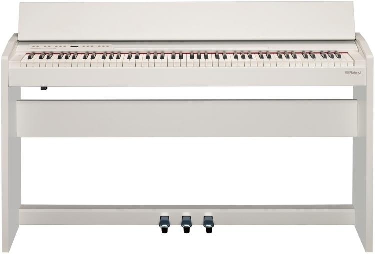 Roland F-140R Digital Piano - White image 1