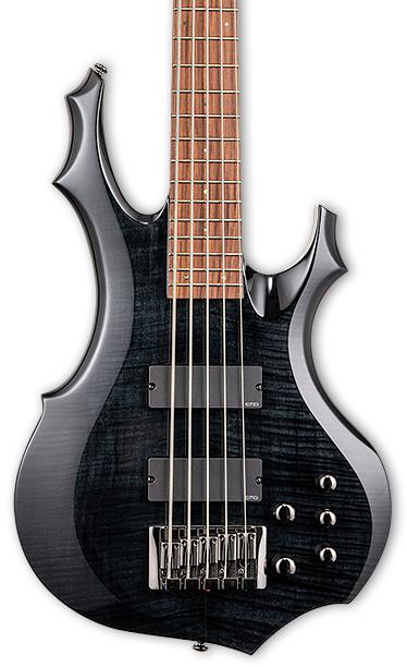 ESP LTD F-415FM - See Thru Black image 1