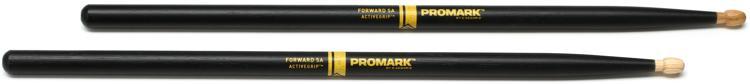 Promark Forward Balance Drumsticks with ActiveGrip - 5A - Acorn Tip image 1