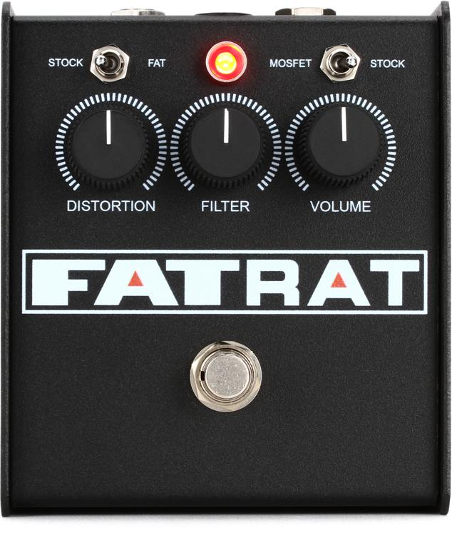 Pro Co Fat Rat Selectable Mosfet Clipping and Thick Boost Distortion image 1
