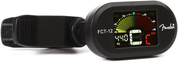 Fender FCT-12 Clip on Color Tuner image 1