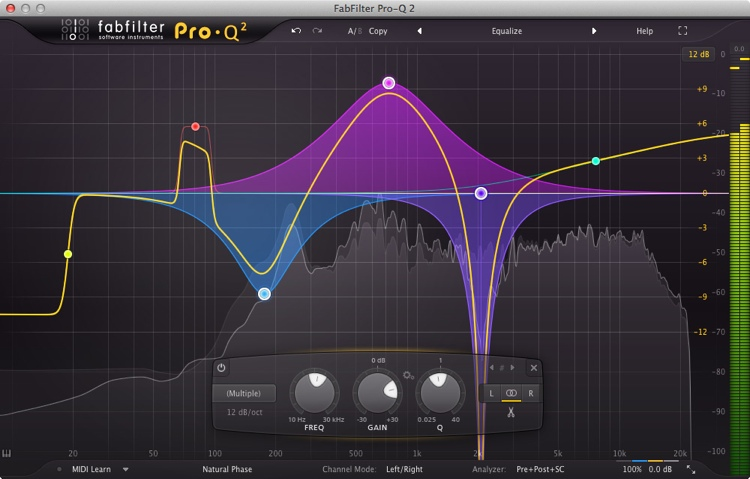 FabFilter Pro-Q 2 EQ and Filter Plug-in image 1