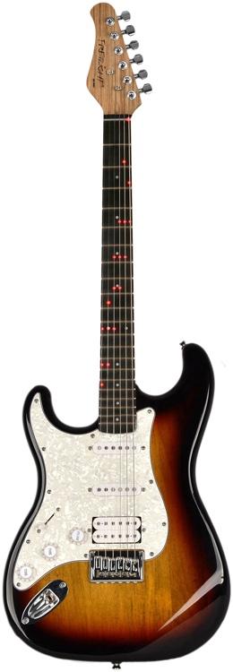 Fretlight FG-521 Guitar Learning System - Sunburst, Left Handed image 1