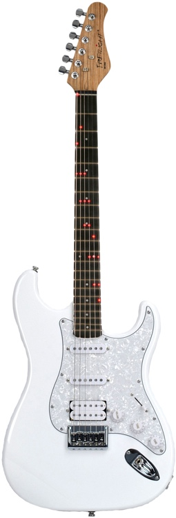 Fretlight FG-521 Guitar Learning System - White image 1