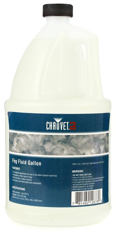 Chauvet DJ High Performance Water-based Fog Fluid - 1 Gallon image 1