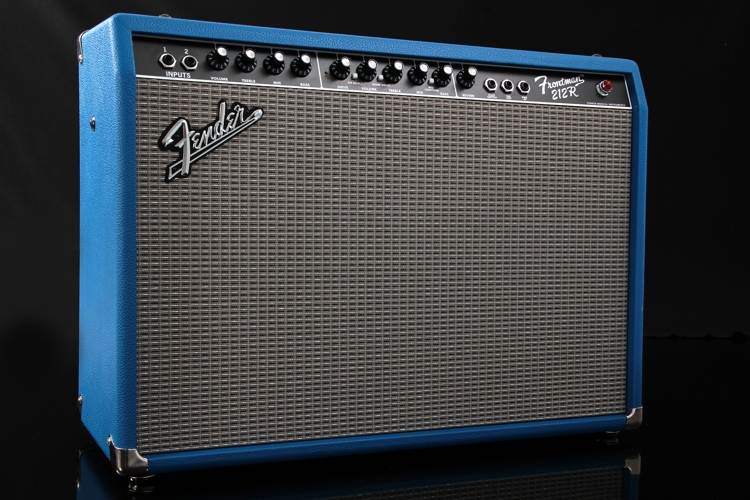 Fender Limited Edition Frontman 212R FSR - FSR Cobalt Blue image 1