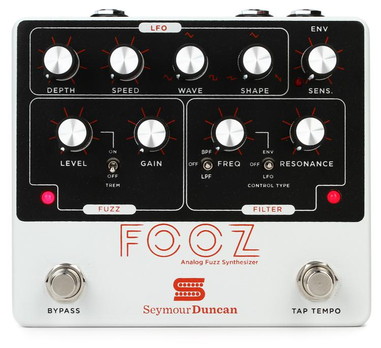 seymour duncan fooz analog fuzz synthesizer pedal sweetwater. Black Bedroom Furniture Sets. Home Design Ideas