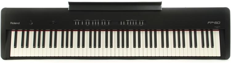 Roland FP-50 Digital Piano - Black image 1