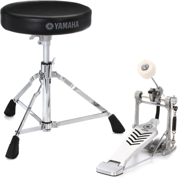 Yamaha FPDS2 Drum Throne Kick Pedal Bundle image 1