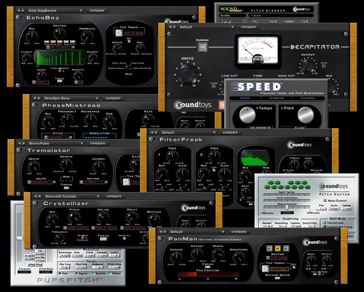 Microshift soundtoys.