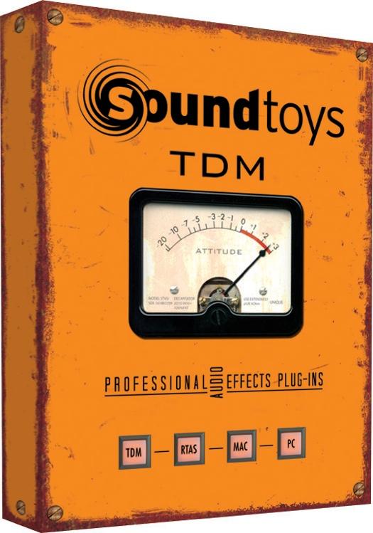 Soundtoys TDM Effects Plug-in Bundle (boxed) image 1