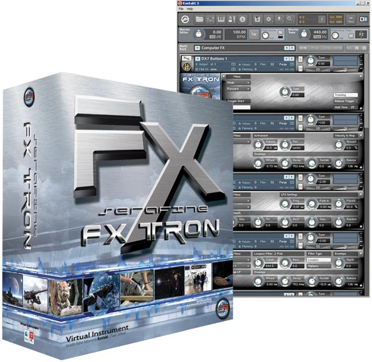 Sonic Reality Serafine FX Tron HD Edition image 1