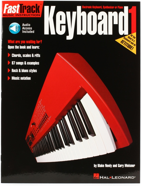 Hal Leonard FastTrack Keyboard Method - Book 1 image 1