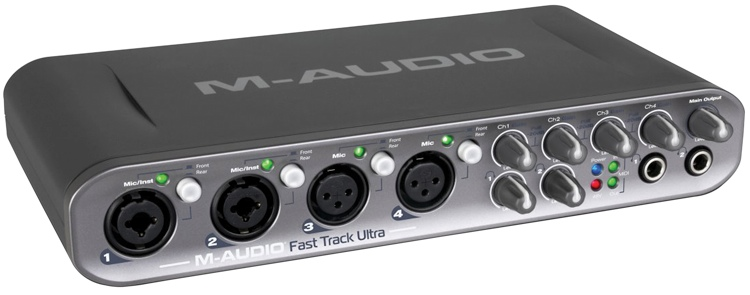 M-Audio Fast Track Ultra image 1