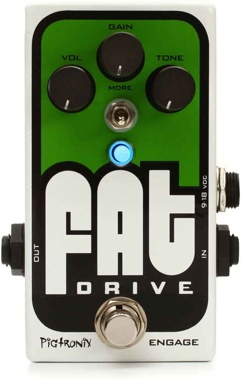 Pigtronix FAT Drive Overdrive / Distortion Pedal image 1