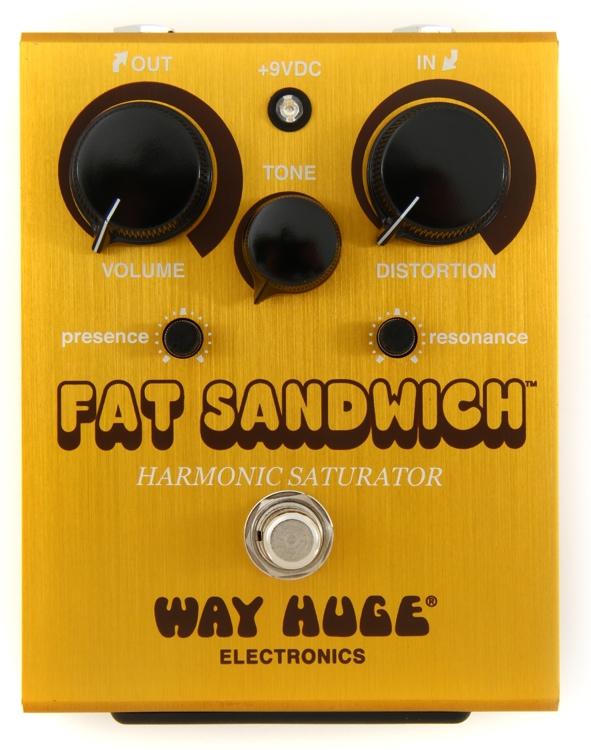 Way Huge Fat Sandwich Harmonic Saturator Distortion Pedal image 1