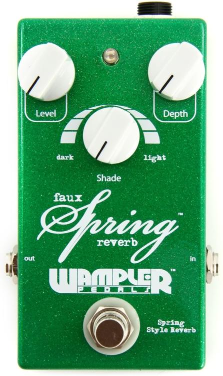Wampler Faux Spring Reverb Pedal image 1