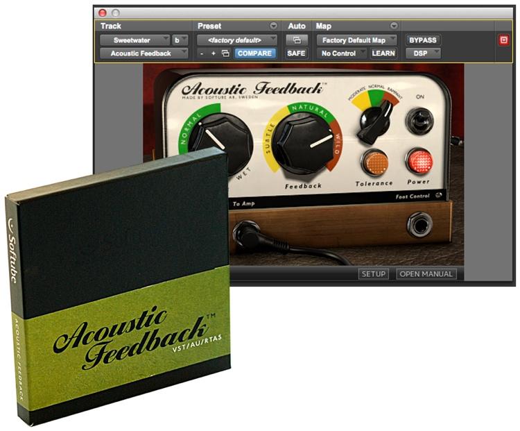 Softube Acoustic Feedback Plug-in - Native image 1