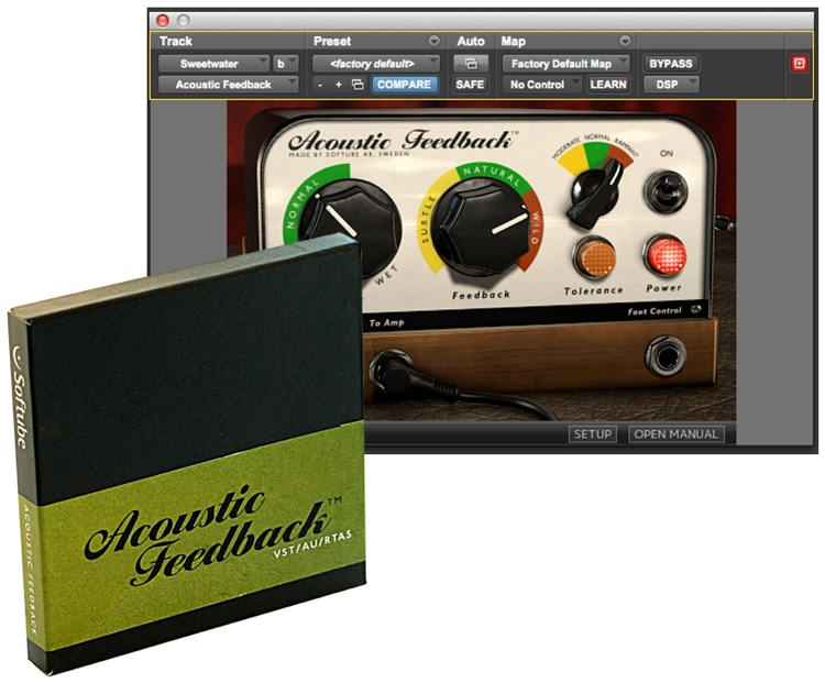 Softube Acoustic Feedback Deluxe Plug-in - TDM image 1