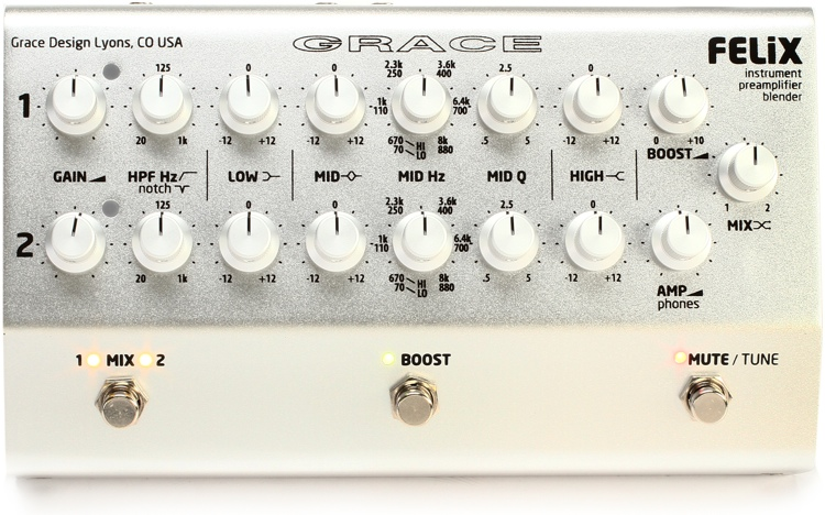 Grace Design Felix Instrument Preamp/Blender image 1