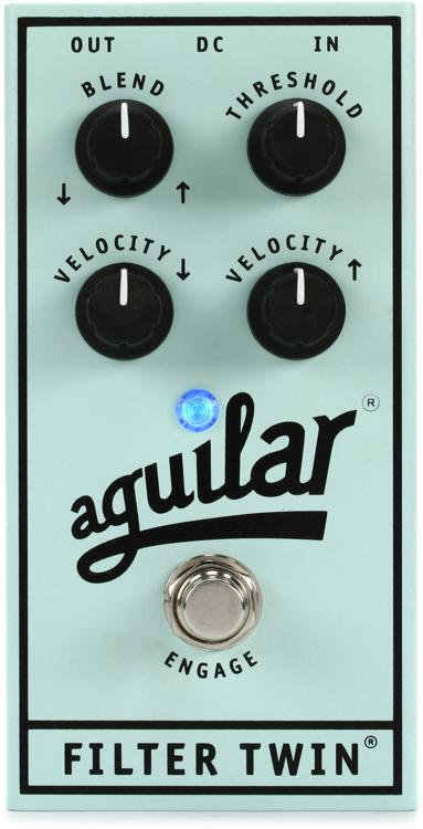 Aguilar Filter Twin Dual Bass Envelope Filter Pedal image 1