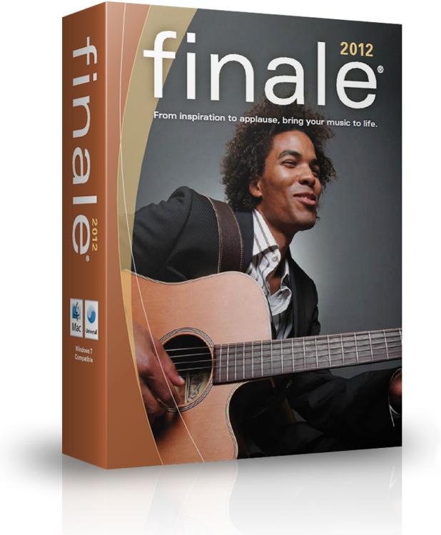 MakeMusic Finale 2012 Site License (per seat) - 5-29 seats image 1