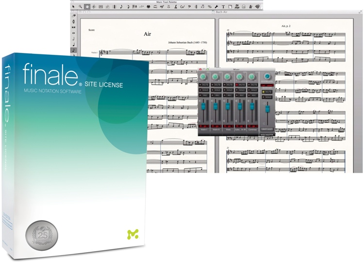 MakeMusic Finale 2014 Academic Site License for 5-29 users (per seat) image 1