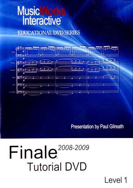 Amazon. Com: finale 2008-2009 tutorial dvd.