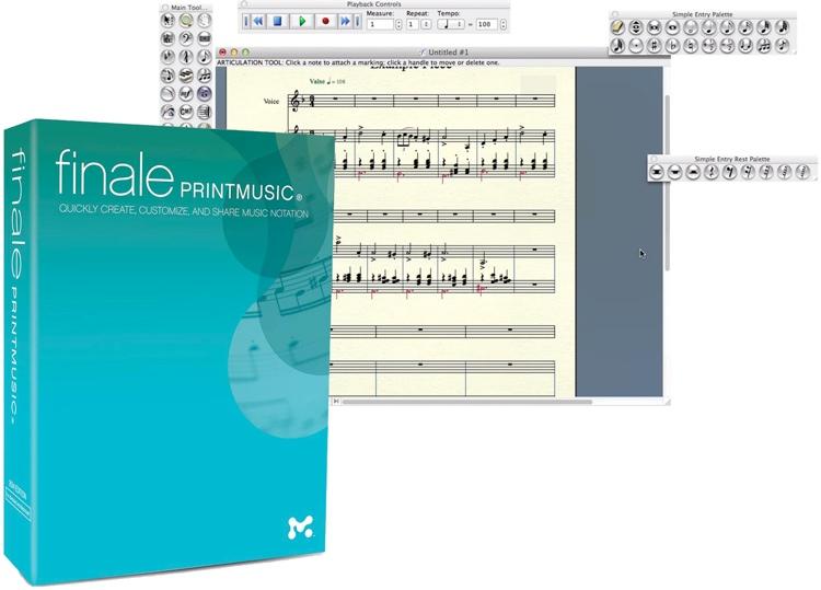 MakeMusic Finale PrintMusic 2014 (download) image 1