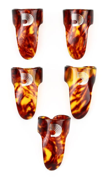 D\'Addario Planet Waves 4CSH4-5 Medium Finger Picks - 5-Pack image 1