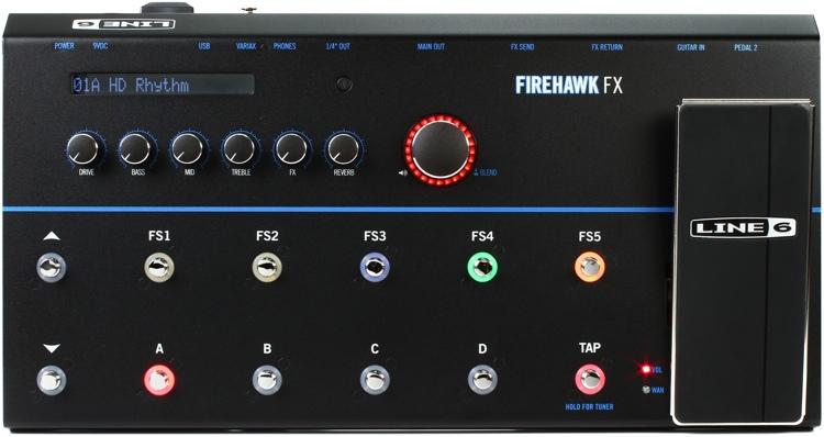 Line 6 Announce Firehawk FX Multi-Effects Pedalboard | Sound ...