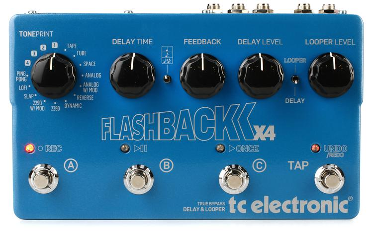 TC Electronic Flashback X4 Delay and Looper Pedal image 1